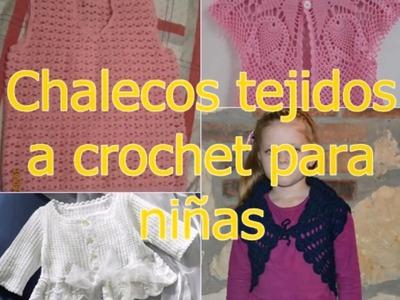 Modelos de chalecos tejidos a crochet