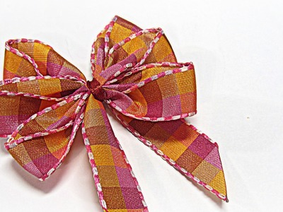 Perfect bows (easy). Lazos perfectos.