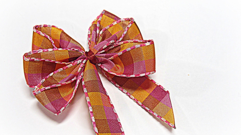 Perfect bows (easy). Lazos perfectos.