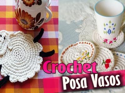 PosaVasos - Tejidos a Crochet ( Diseños )