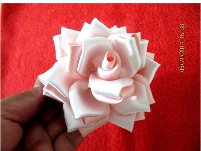 Roses flowers rosas matizadas en cintas para el cabello - vídeo en HD