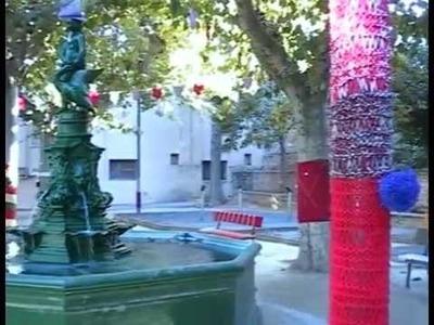 San Francisco se llenó de color con el movimiento 'urban knitting'