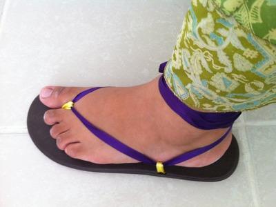 Sandalias de verano ¿Rotas?