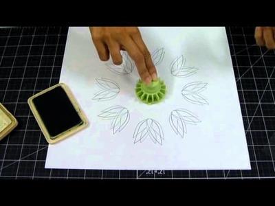 SCRAPBOOK. VIDEO TUTORIAL STAMPING GEAR. EL SCRAP DE VANE