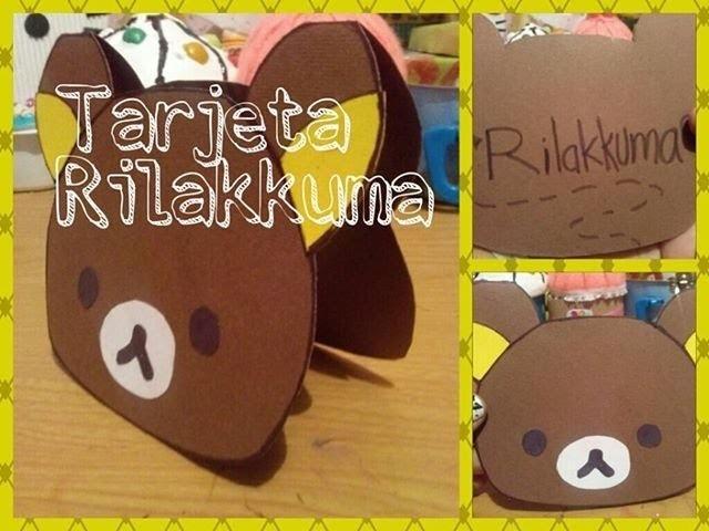 Tarjeta Rilakkuma para Ocasión Especial. Craft And Color