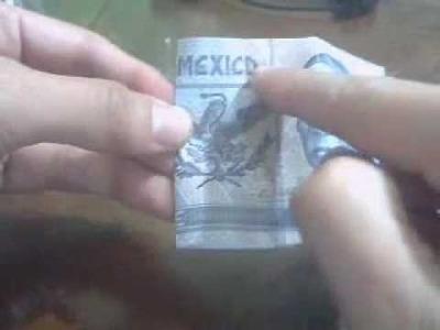 Te amo en Billete 20 Pesos