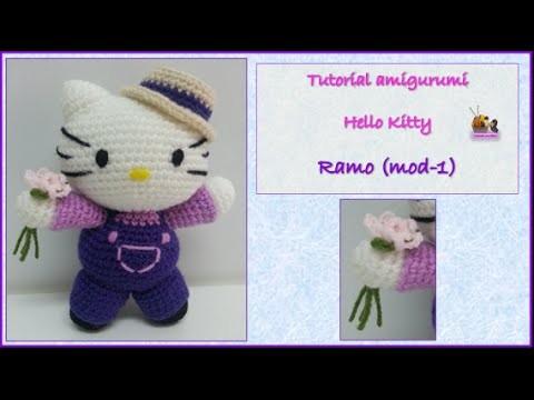 Tutorial amigurumi Hello Kitty - Ramo (mod-1)