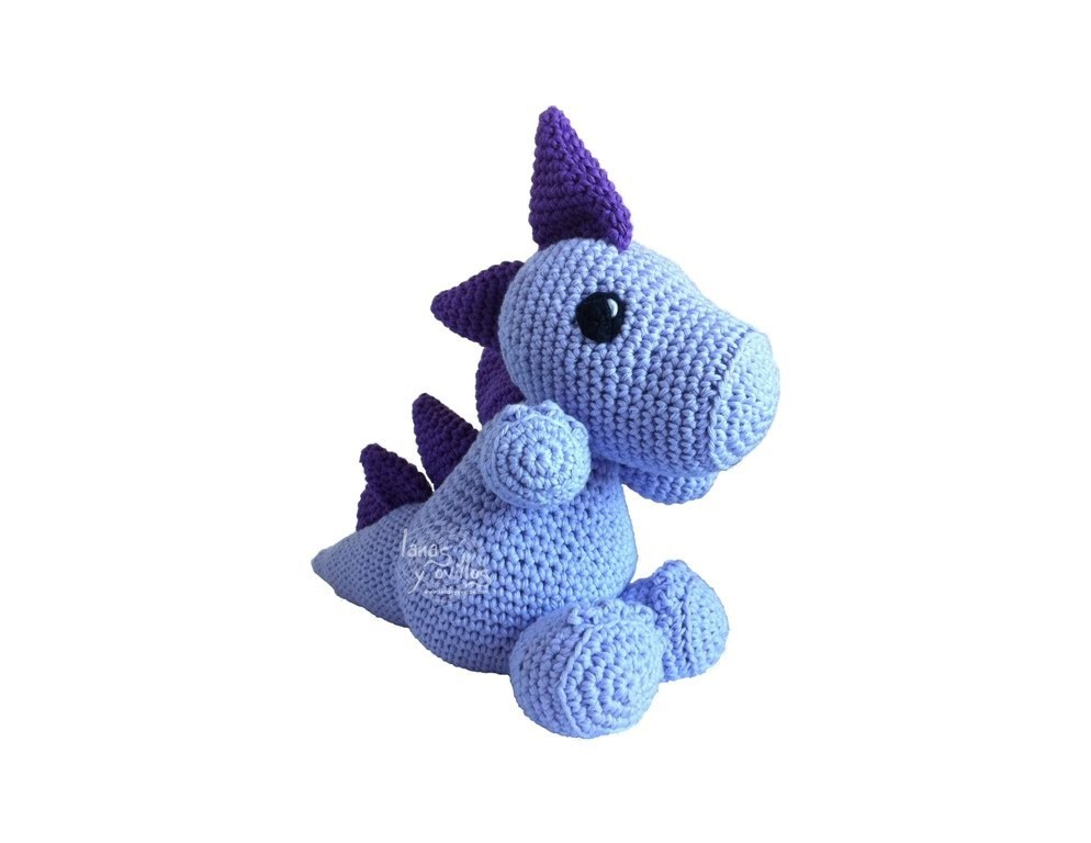Tutorial Dragon Amigurumi 2-3 (English subtitles)