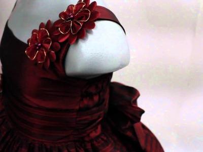 Vestido de niña Mod  Vianey El Sueño de las Niñas