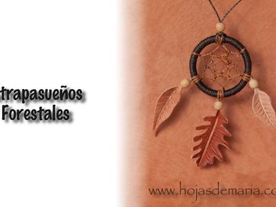 Www.hojasdemaria.com || Proceso de creación de nuestros Atrapasueños Forestales