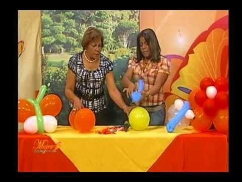 186. Indira Cruz: Una idea para decorar en las fiestas de tus niños.