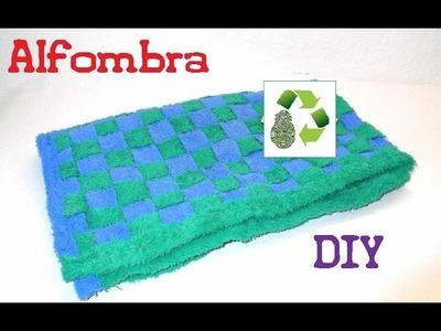 65. DIY ALFOMBRA (RECICLAJE DE TELA-TOALLAS)