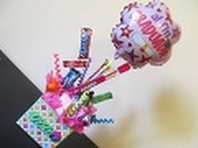 Arreglo de Dulces y globo para REGALAR! - floritere - 2012