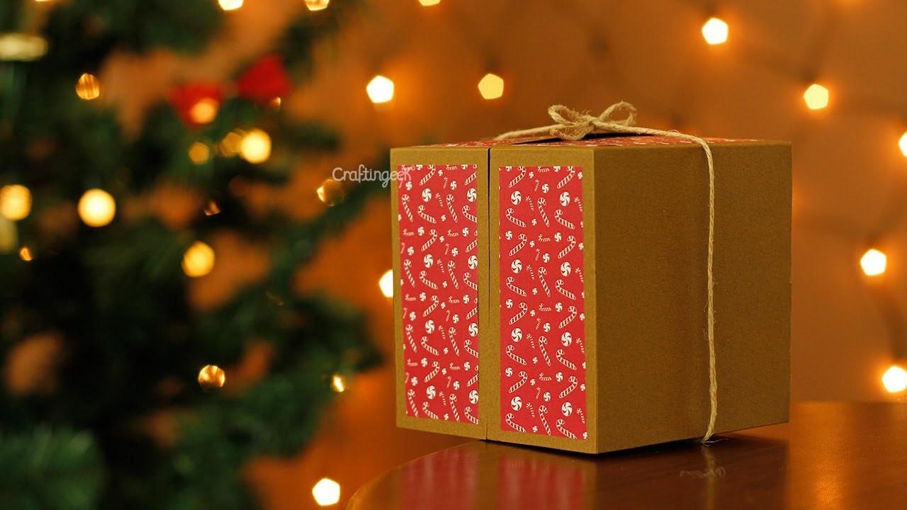 Cajita desarmable para regalo. Hazlo tu mismo
