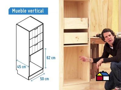 ¿Cómo hacer un ropero-escritorio infantil para dormitorio?
