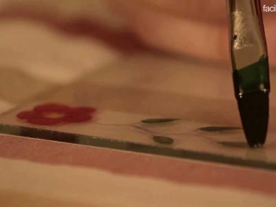 * Cómo pintar sobre cristal | facilisimo.com