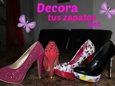 Decora y Revive Tus Zapatos Super Facil.