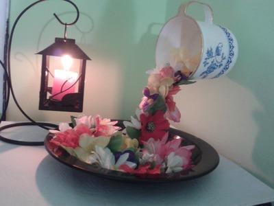 Decoracion : Cascada de flores