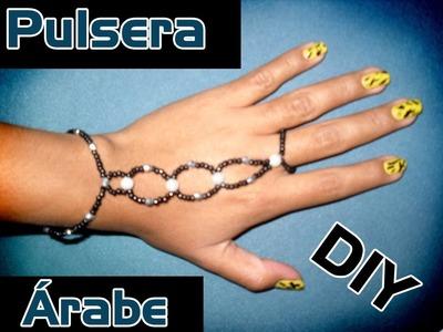 ♥ DIY ♥.  Hagamos una pulsera estilo árabe!! ♥
