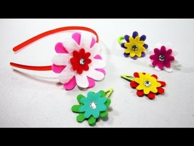 Episodio 558- Cómo hacer varios accesorios con flores de fieltro