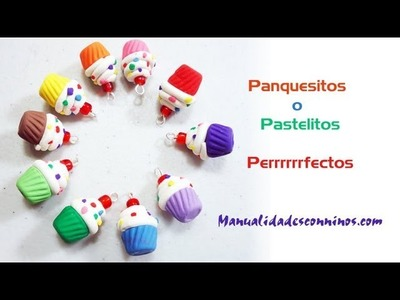 Episodio  613 - Cómo hacer pastelitos o panquesitos de arcilla polimérica o fimo