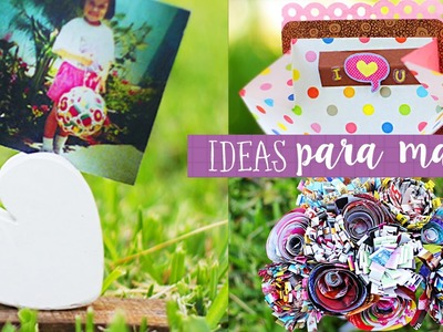 Manualidades para el dia de la madre. Mini Especial Crafty ✎ Craftingeek