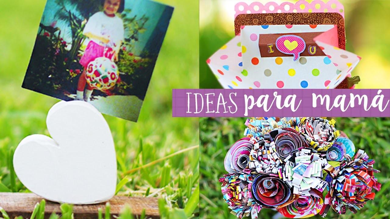 Manualidades para el dia de la madre. Mini Especial Crafty ✎ Craftingeek
