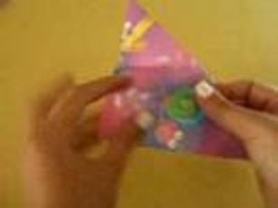 Mariposa de Origami muy facil .