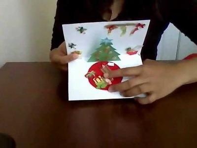 Tarjeta Pop Up ( Navidad )