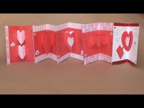 Tarjetas Pop-up 3D para San Valentin [FACIL]