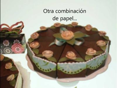 Torta de papel