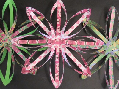 Tutorial: Estrella de papel para decorar.