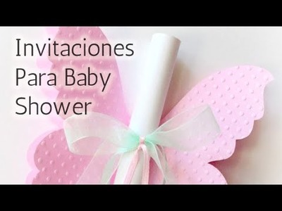 40 Súper ideas Invitaciones para Baby shower HD