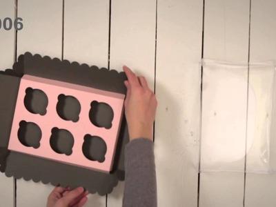 Cajas para 6 Cupcakes - Vídeo de montaje ref. 3006 SelfPackaging