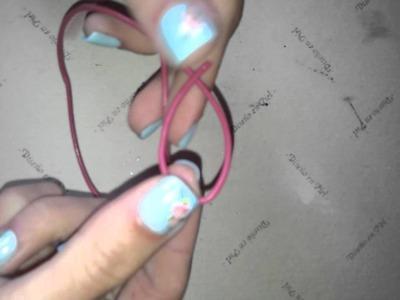 Cómo hacer el nudo corredizo - nudo para pulseras o collares