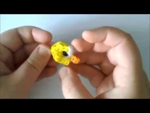 COMO HACER HA FLAPPY BIRD CON GOMITAS (LIGAS)CON TELAR.
