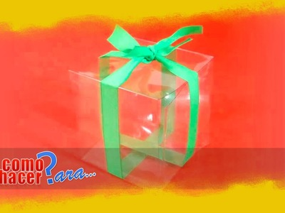 Cómo Hacer una Caja con Botellas de Plástico - Reciclado