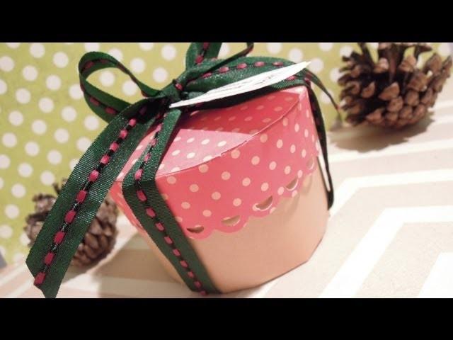 Cómo hacer una caja redonda. MUY FÁCIL. DN1-2013