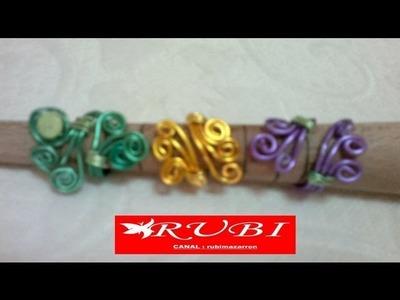 DIY: Como hacer anillo de 3 alambres adaptable