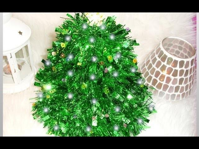 DIY Muy, Muy Fácil Y Rápido! ♡ Cómo Crear Tu Propio Árbol De Navidad