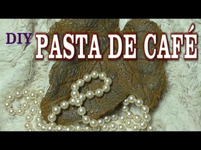 DIY PASTA DE CAFÉ, ESPECIAL PARA IMITACIONES DE METAL - COFFE PASTE FOR IMITATIÓN METAL,