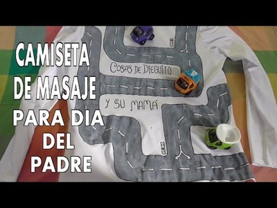 DIY REGALO PARA EL DIA DEL PADRE, DIY T-SHIRT FOR THE FATHER'S DAY