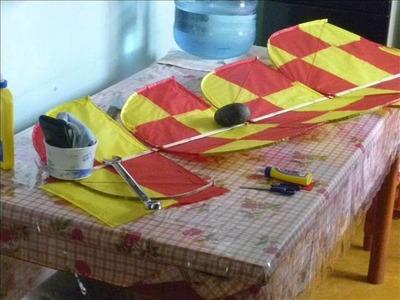 Elaboracion papalote paloma o plaga tabasqueña