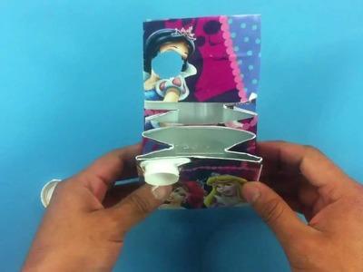 Hacer un monedero con un tetrabrick - Hacer una cartera