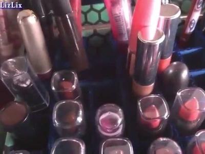 Hazlo tu mism@ DIY 24: Manualidad Organizador de Labiales y Maquillaje