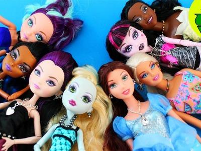 Manualidades para muñecas: Cómo hacer la joyería para muñecas: collares, pulseras y pendientes