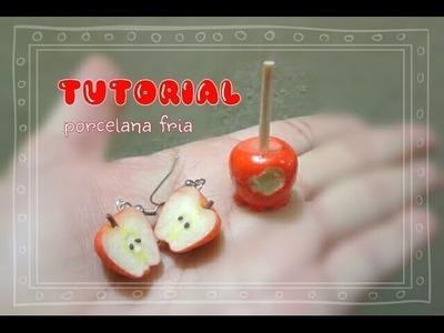 "Manzanas "" PORCELANA FRÍA "" tutorial cold porcelai"