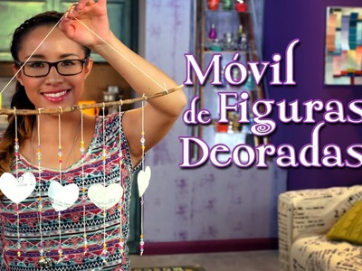 Móvil de Figuras Decoradas - Crafting Studio