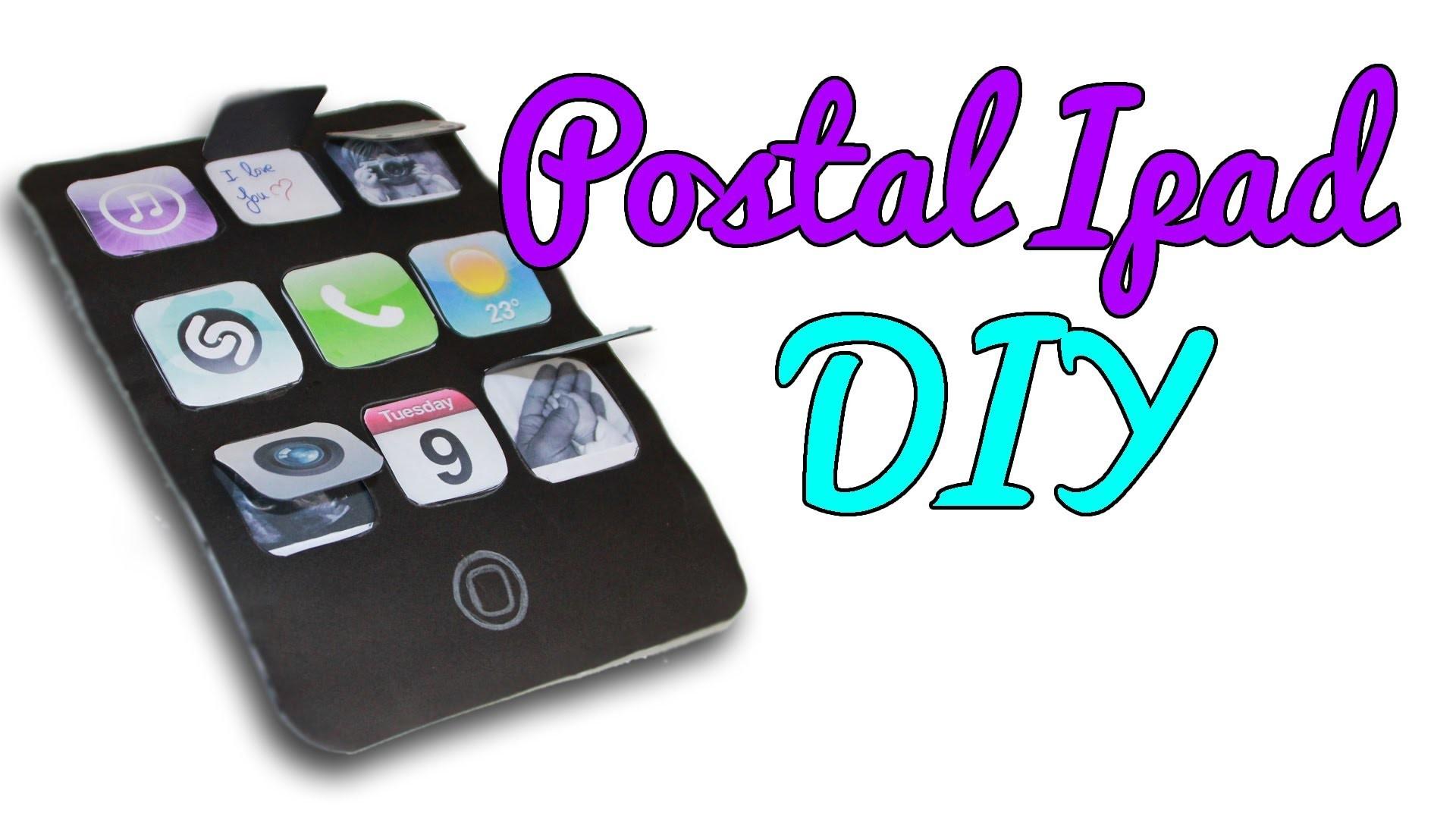 Postal Ipad para el Día del padre, cumpleaños, etc (Manualidades Fáciles)