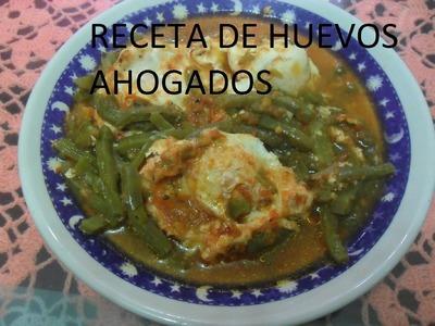 RECETA DE HUEVOS AHOGADOS (LOS ANGELES COCINAN )
